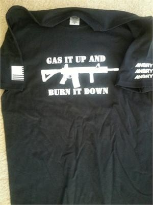 Gas it up and burn it down