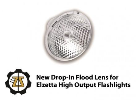 Elzetta FLOOD Lens text
