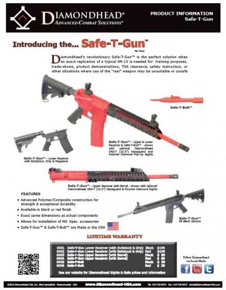 Diamondhead Safe-T-Gun