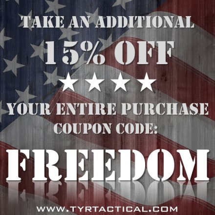 Tyr Tactical Memorial Day