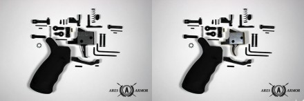 Archimedes AR15 Lower Parts Kit