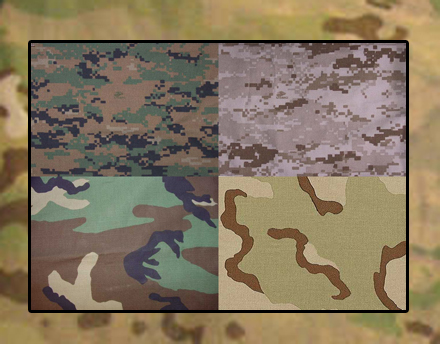 US Army Camo Bookend Tests