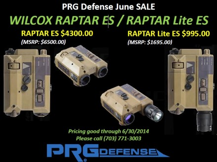PRG Defense June Sale
