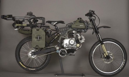 Survival Bike Black Ops