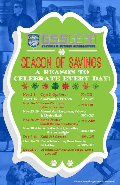 GSS Gear Season of Savings