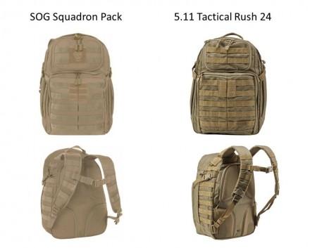 Pack Comparison