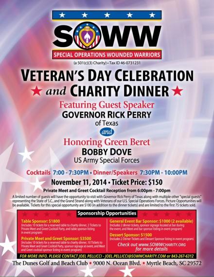 SOWW Veterans Day Celebration
