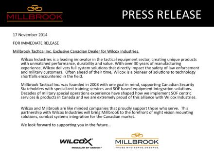 Millbrook Wilcox
