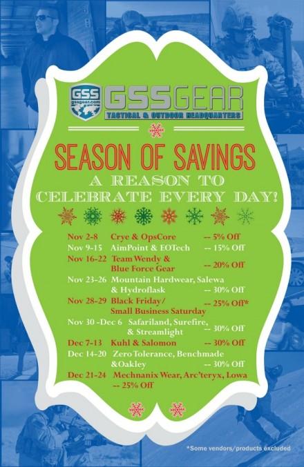 Season of Savings Reminder