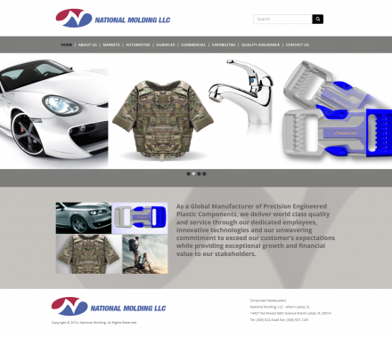 National Molding new site