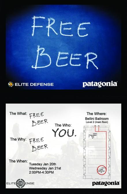 SHOT15 Patagonia & Elite Defense Beer Calling Hours