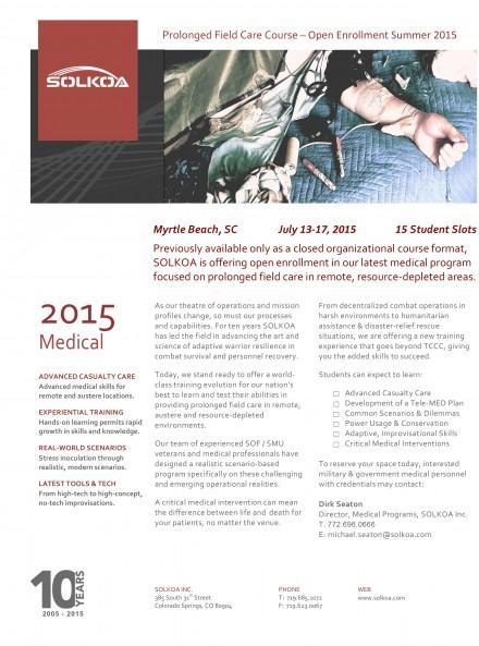 Rescuers - PFC 2015 Open Enrollment Flyer