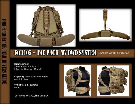 FOR105 TACPAK W DWD-1