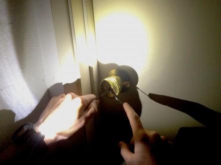 watch flashlight lock pick