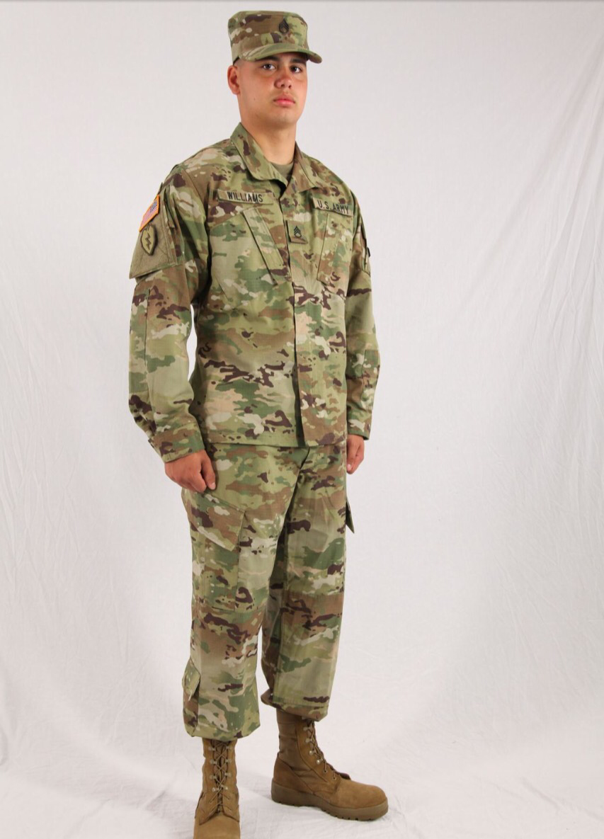3 US Army PROPPER Short Sleeve Military shirt tshirt tan 499 Scorpion Multicam M