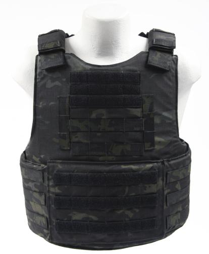 BALCS Cumber Body Armor Carrier Multicam Black Front