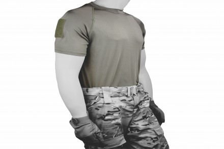 Operators Shirt, Velcro, M.A.S.S Grey, Primary, White, Final