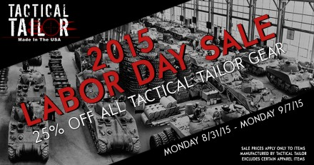 TT Labor Day Sale