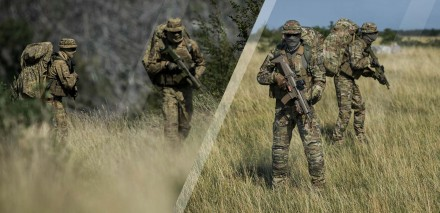 MultiCam vs Badlands