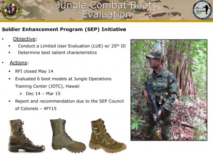 US Army Operational Footwear - Jungle Boot