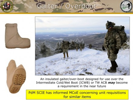 US Army Operational Footwear - Overboot