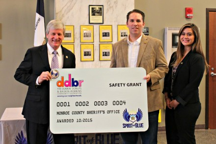 Monroe County Safety Grant Presentation - 10-21-15