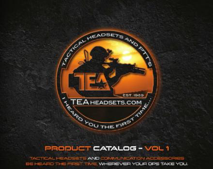 TEA Headsets Product Catalog Vol 1