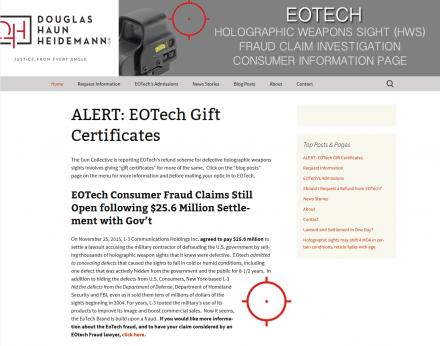 EOTech Lawsuit