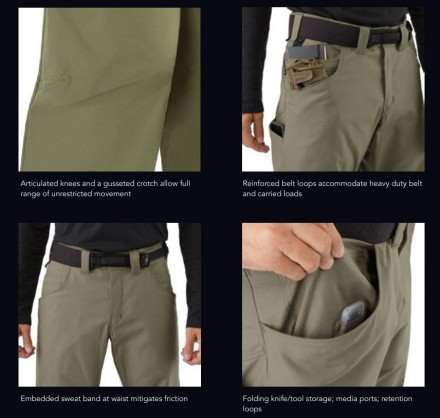 Xfunctional Pant AR features