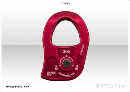 CTOMS Prodigy Pulley - PMP Reverse Side View V1