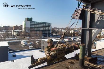 Atlas Devices-APA5-Single Rescuer Hoist Edge Transition