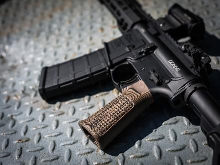 Punisher Grips. Hero shots Gemtech suppressor, VZ Grips