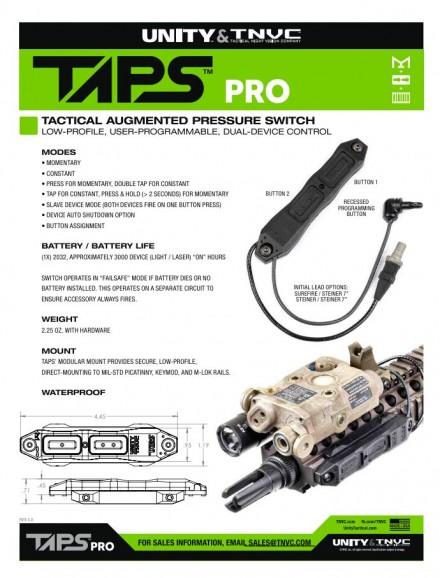 TAPSPro Info Sheet