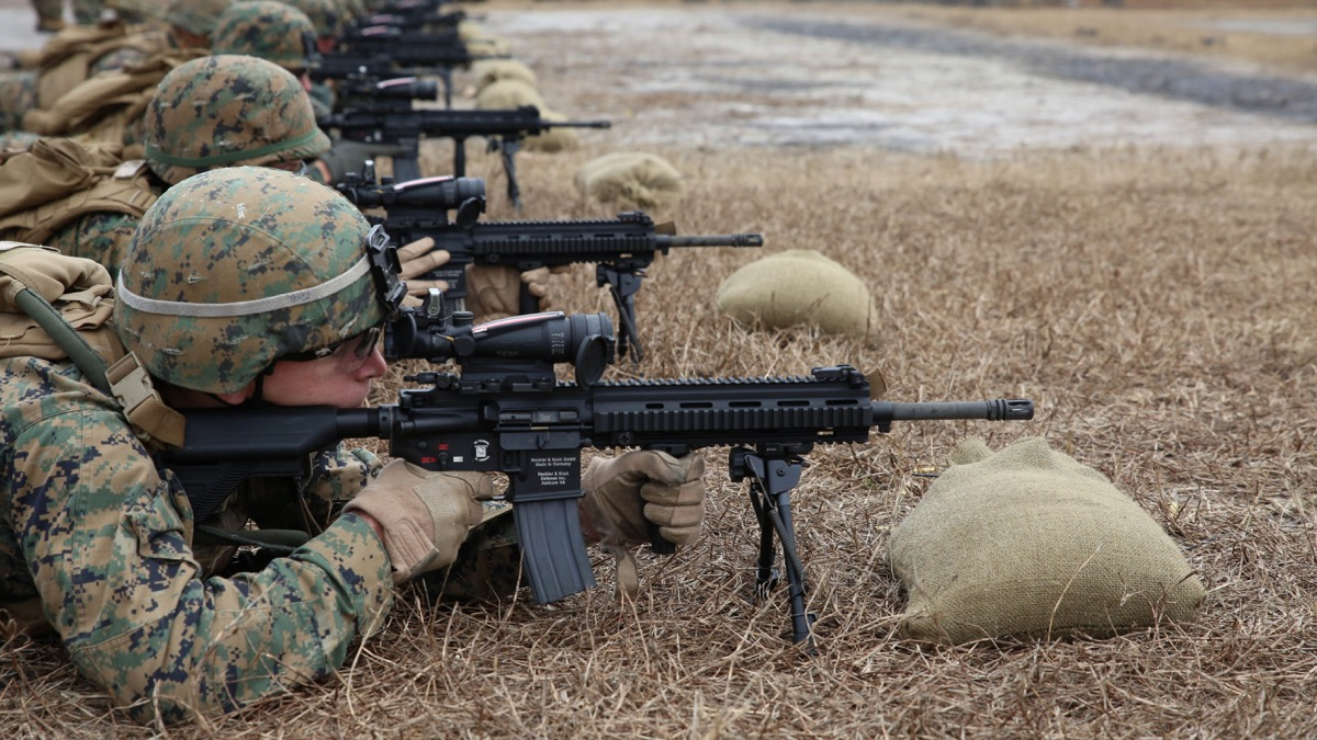 Usmc M27 Update Designated Marksman Role Added Soldier Systems