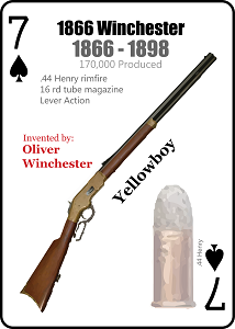 Old West Gun Playing Cards