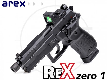 Arex Rex Zero 1 9mm Pistol in Standard, Compact, and Tactical.