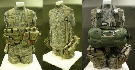 The Airborne Tactical Assault Panel (ABN-TAP) rigging configurations. (Photo Credit: Photo courtesy of PEO Soldier)