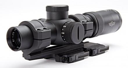 Hi-Lux Close to Medium Range 1-8X26 FFP open