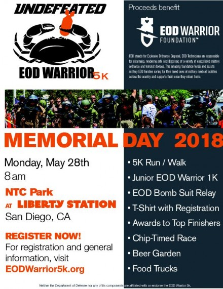 EOD Memorial Day Event