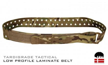 TARDIGRADE TACTICAL LOW PROFILE LAMINATE BELT jpg
