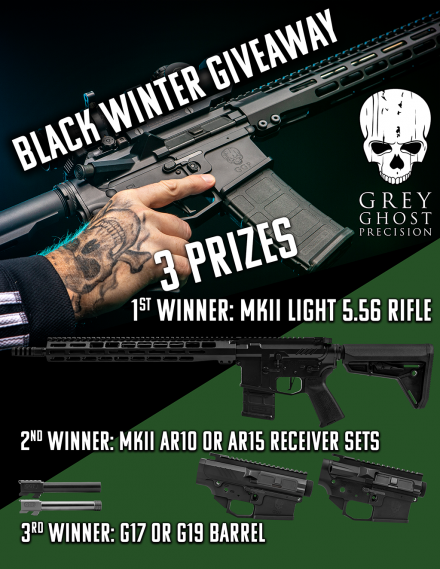 Grey Ghost Precision Black Winter Giveaway