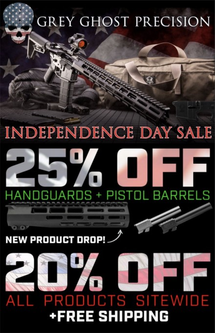 Grey Ghost Precision Independence Day Sale
