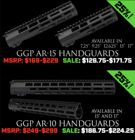 Grey Ghost Precision Handguards