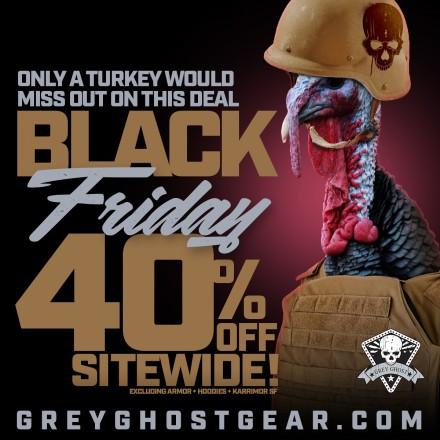 Grey Ghost Gear Black Friday Sale