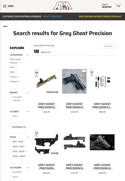 Grey Ghost Precision