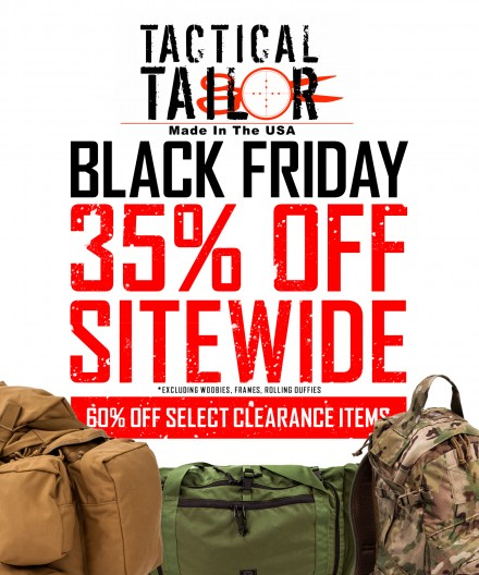 Tactical Tailor Black Friday Sale