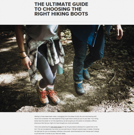 The Ultimate Guide to Choosing the Right Hiking Boots