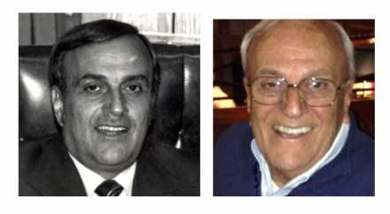 An enduring leader at McRae Industries:  Victor Karam in the '70s and today