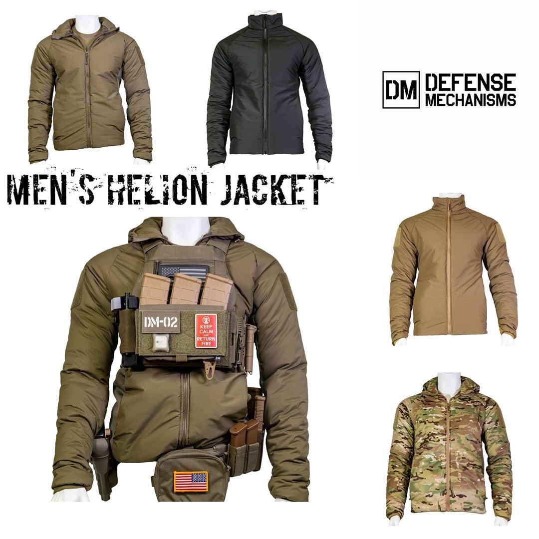 Defense Mechanisms Helion Jacket Soldier Systems Daily